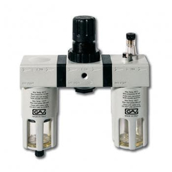 GAV G-FRL-200 3/8 Фильтр модульная группа с лубрикатором и манометром GAV Запчасти Пневматический