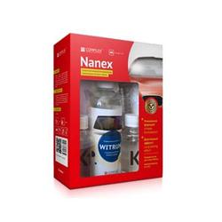Complex NANEX Комплект, защитное водоотталкивающее нанопокрытие для стекол Vortex Автохимия Автомойка