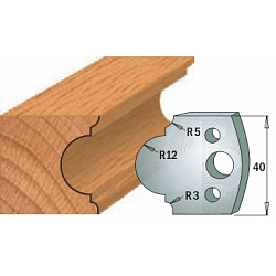 Комплекты ножей и ограничителей серии 690/691 #018 CMT Ножи и ограничители для фрез 40 мм Ножи