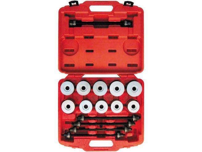 Набор для выпрессовки и запрессовки сайлентблоков Сорокин 40.35 (М10-М18, 27 предметов) Сорокин Ручной Инструмент